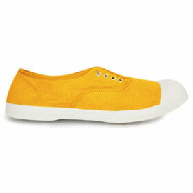 Bensimon  Tennis with eyelets and elastic  women's Shoes (Trainers) in Yellow