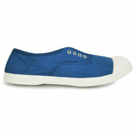 Bensimon  Tennis with eyelets and elastic  women's Shoes (Trainers) in Blue