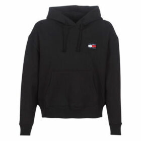 Tommy Jeans  TJW TOMMY BADGE HOODIE  women's Sweatshirt in Black