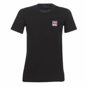 Diesel  SILY ZE  women's T shirt in Black