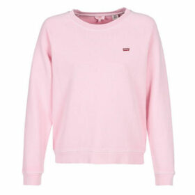 Levis  RELAXED GRAPHIC CREW  women's Sweatshirt in Pink