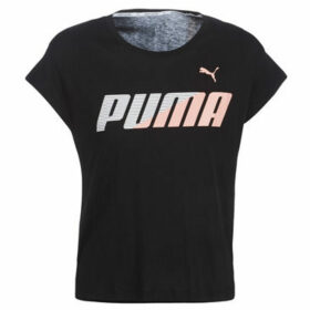 Puma  MODERN SPORT GRAPHIC TEE  women's T shirt in Black