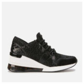 MICHAEL MICHAEL KORS Women's Liv Extreme Runner Style Trainers - Black - UK 7/US 10 - Black