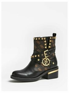 Guess Studded Fenix Low Boots