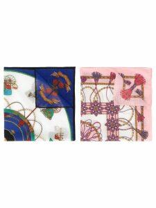 Céline Pre-Owned logo scarf set - Multicolour
