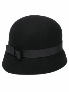 Krizia Pre-Owned felted wool hat - Black