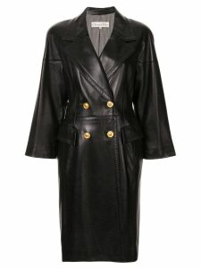 Christian Dior Pre-Owned double-breasted coat - Black
