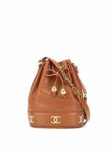 Chanel Pre-Owned drawstring shoulder bag - Brown