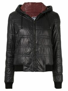 Chanel Pre-Owned bomber style zip jacket - Black