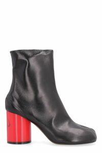 Maison Margiela Tabi Hologram Leather Ankle Boots