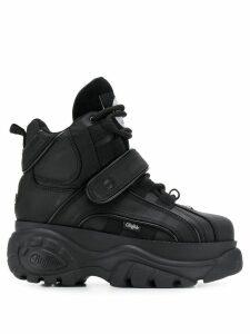 Buffalo Corin platform hi-top sneakers - Black