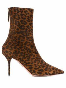 Aquazzura Saint Honoré 85 boots - Brown