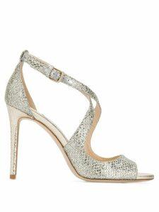 Jimmy Choo emily 100 stiletto sandals - Silver