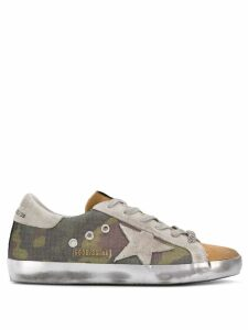 Golden Goose lace up sneakers - Green