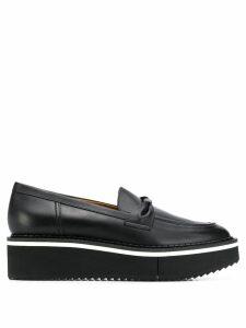 Clergerie platform loafers - Black