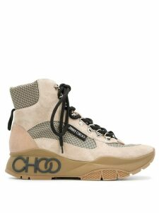 Jimmy Choo INCA/F high-top sneakers - NEUTRALS