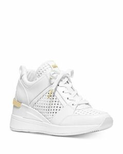Michael Michael Kors Women's Georgie Leather & Mesh Chunky Sneakers