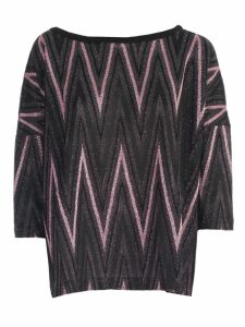 M Missoni Sweater 3/4s A Line Lurex
