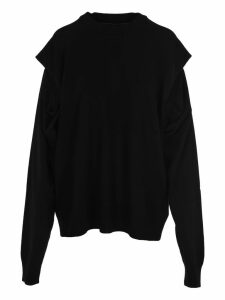 Martin Margiela Cut Out Details Sweater