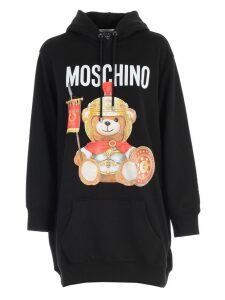 Moschino Sweatshirt W/hood And Print