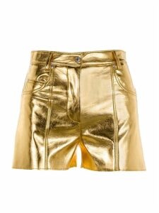 Msgm Metallic Shorts