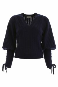 Ulla Johnson Brisa Cable Knit Pullover