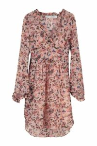 IRO Printed Dress With Wrinkles
