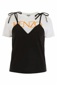 Kenzo Logo T-shirt With Top