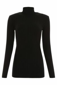 Paco Rabanne Ribbed Turtleneck