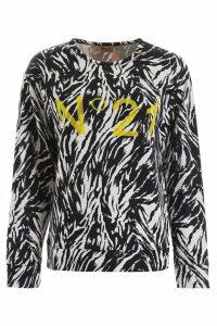 N.21 Zebra Print Sweatshirt