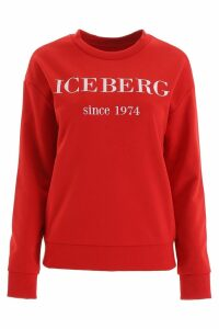 Iceberg Sweatshirt With Embroidered Logo