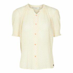Polka Dot Print Shirt