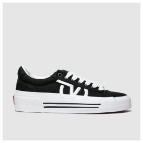 Vans Black & White Sid New Issue Trainers