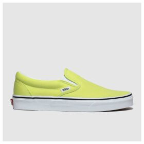 Vans Lime Classic Slip-on Trainers