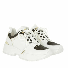 Michael Kors Sneakers - Cosmo Trainer Optic White/Brown - white - Sneakers for ladies