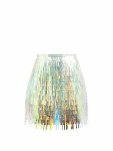 D'ascoli - Meadow Floral-print Cotton Blouse - Womens - Blue