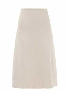 D'ascoli - Suffolk Floral Print Cotton Midi Dress - Womens - Pink