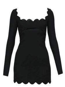 Evi Grintela - Gizele Ruffled Floral Print Cotton Dress - Womens - Blue Print