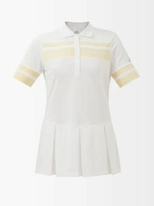Evi Grintela - Elsa Floral-print Silk Twill Shirtdress - Womens - Red White
