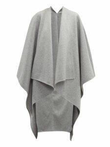 Joseph - Wool-blend Poncho - Womens - Grey