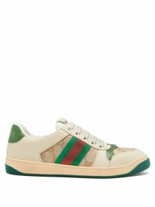 Loewe - Deer-jacquard Mohair-blend Cardigan - Womens - Cream Multi