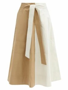 Missoni - Tie-neck Metallic Top - Womens - Navy