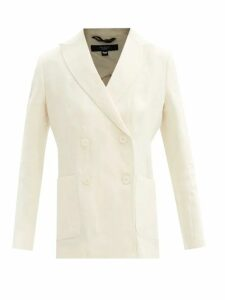 Loewe - Anagram Embroidered Wool Sweater - Womens - Pink