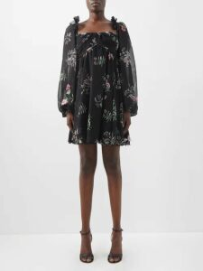 The Row - Margita Roll Neck Silk Sweater - Womens - Black