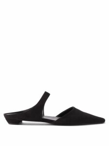 Alexandre Vauthier - High-neck Ribbed Chenille Sweater - Womens - Beige
