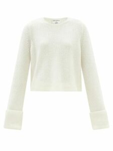 Emma Willis - Linen Shirt - Womens - Light Blue