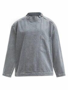 Sea - Low-rise Leopard-print Cotton Trousers - Womens - Leopard