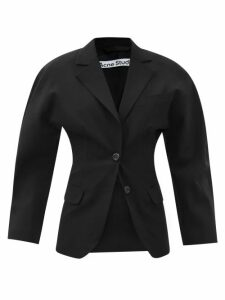 Isabel Marant - Tartan Brushed-wool Shirt - Womens - Blue Multi