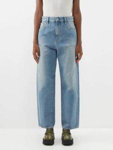 Apiece Apart - Quince Broderie-anglaise Cotton Dress - Womens - Black