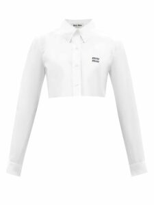 Charles Jeffrey Loverboy - Aran Contrast Cable Knit Wool Jumper - Womens - Multi